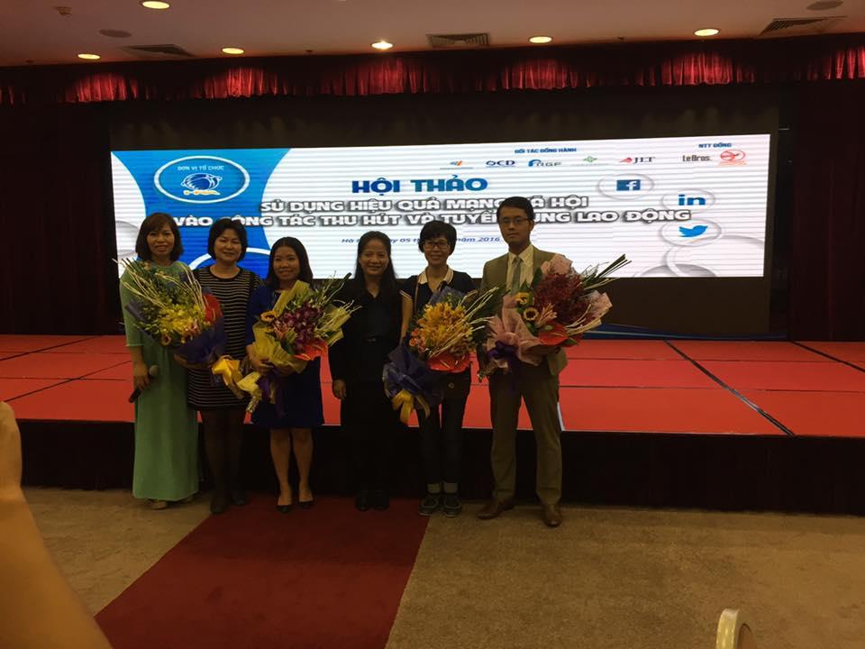 Hội thảo tổ chức bởi Hiệp hội nhân sự và Sông Hồng ICT Phương Nam