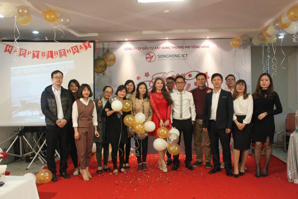 SH.ICT.PN phối hợp SH.ICT. MEDIA tổ chức sinh nhật định kỳ và chào mừng ngày Quốc tế phụ nữ 8/3