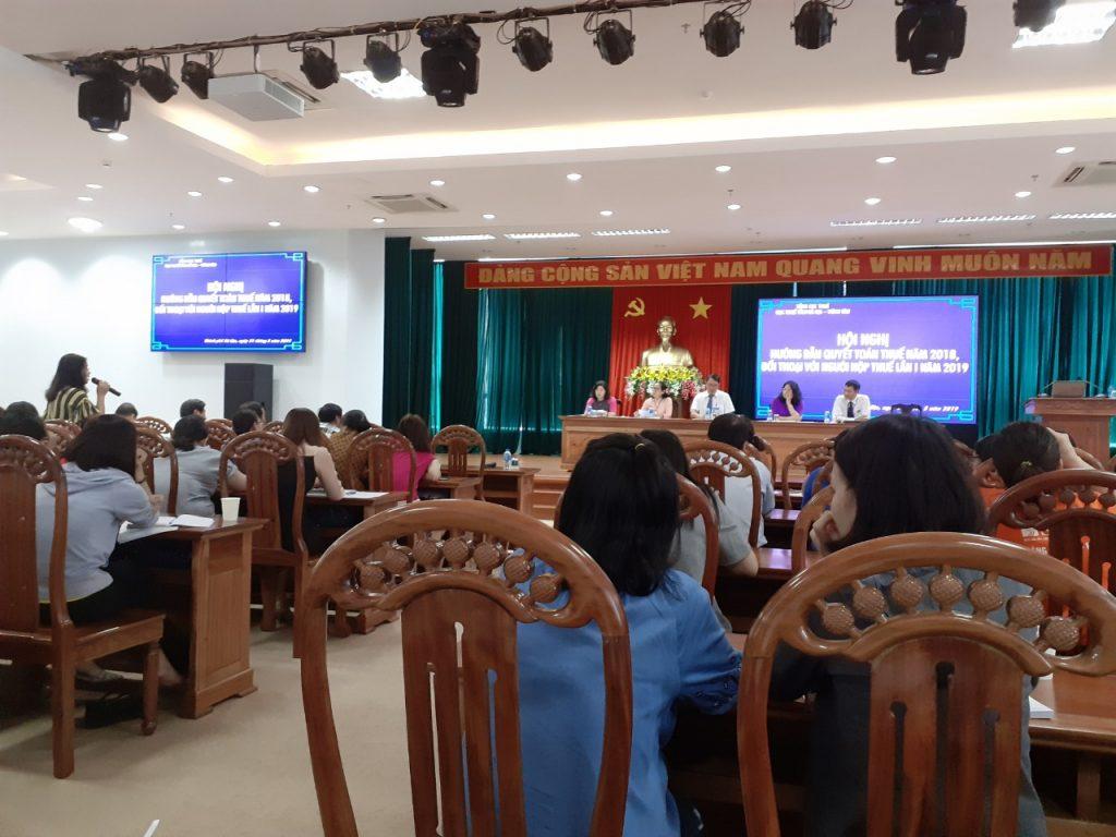 Hội nghị hướng dẫn quyết toán thuế 2018, đối thoại với người nộp thuế lần 1 năm 2019 Tỉnh Bà Rịa – Vũng Tàu