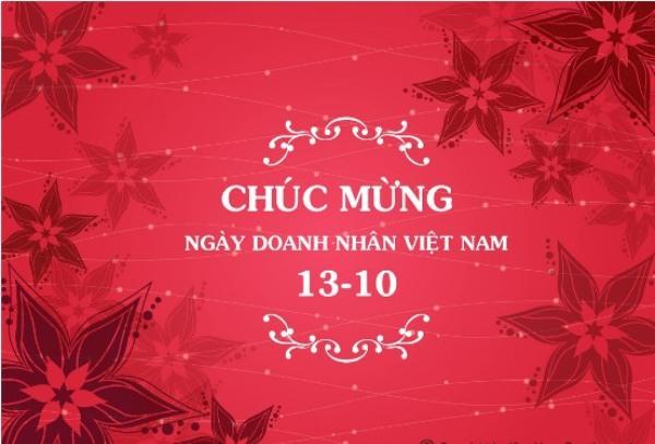 HVTG Chúc mừng ngày Doanh nhân Việt Nam 13/10